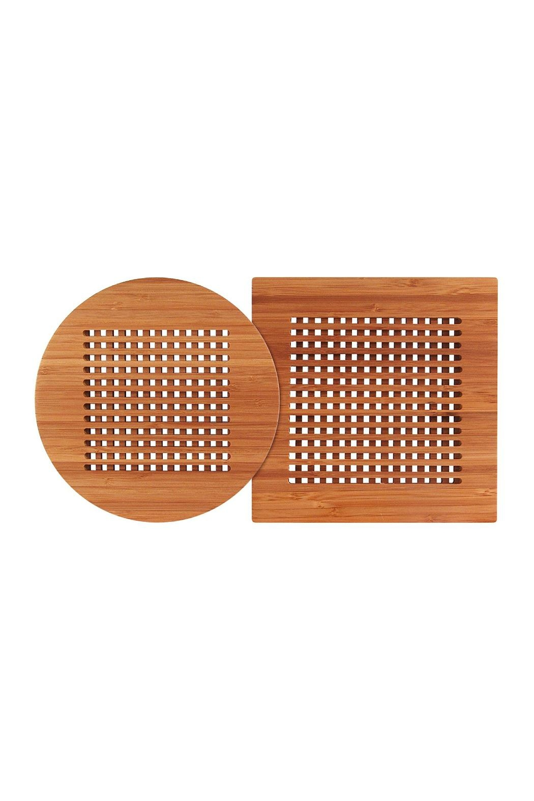 Totally Bamboo 2 Piece Bamboo Trivet Set From South Carolina By Hartzog S Gifts Jewelers Shoptiques