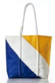 SEABAGS TOTE DIAGONAL COLORBLOCK - Front cropped
