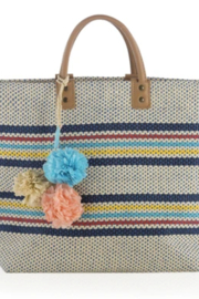 Shiraleah TOTE RIA STRIPE STRAW - Product Mini Image