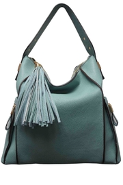 Sondra Roberts Tote With Tassles - Product Mini Image