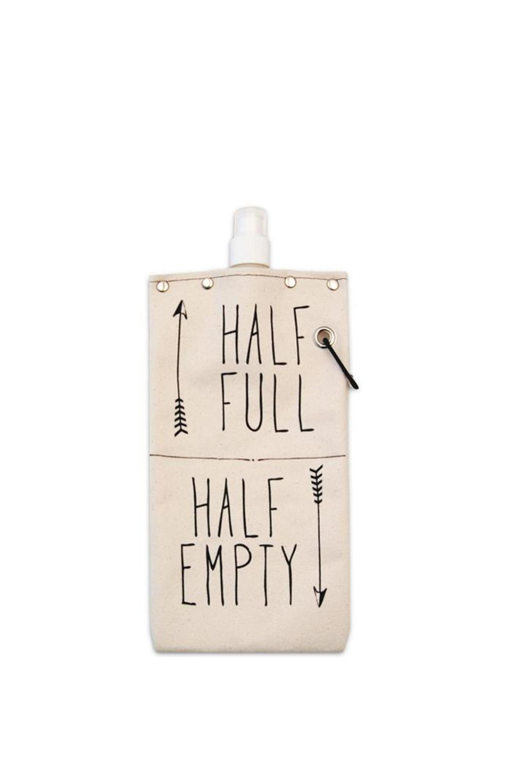 Tote + Able Half Full Flask - Main Image
