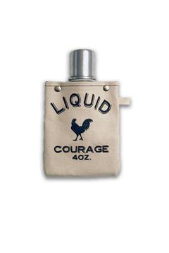 Tote + Able Liquid Courage Flask - Product List Image