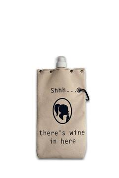 Tote + Able Shh Wine Flask - Product List Image