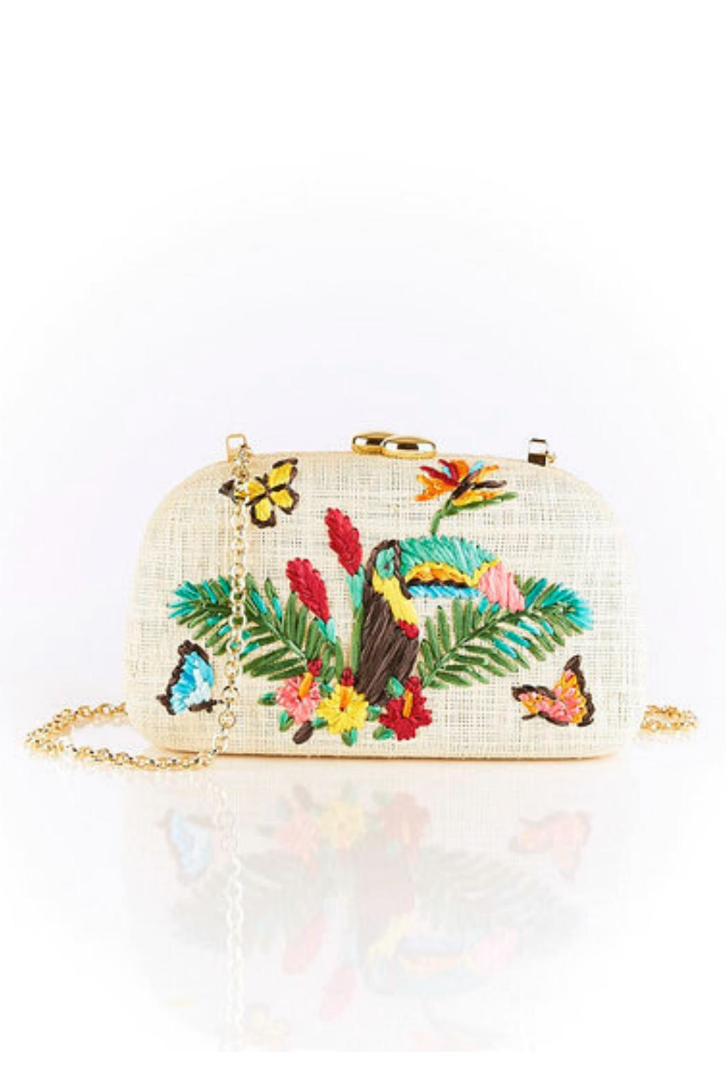 SERPUI Toucan Clutch - Side Cropped Image