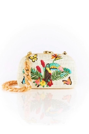 SERPUI Toucan Clutch - Front cropped