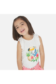 Mayoral Toucan Tank Top - Front cropped
