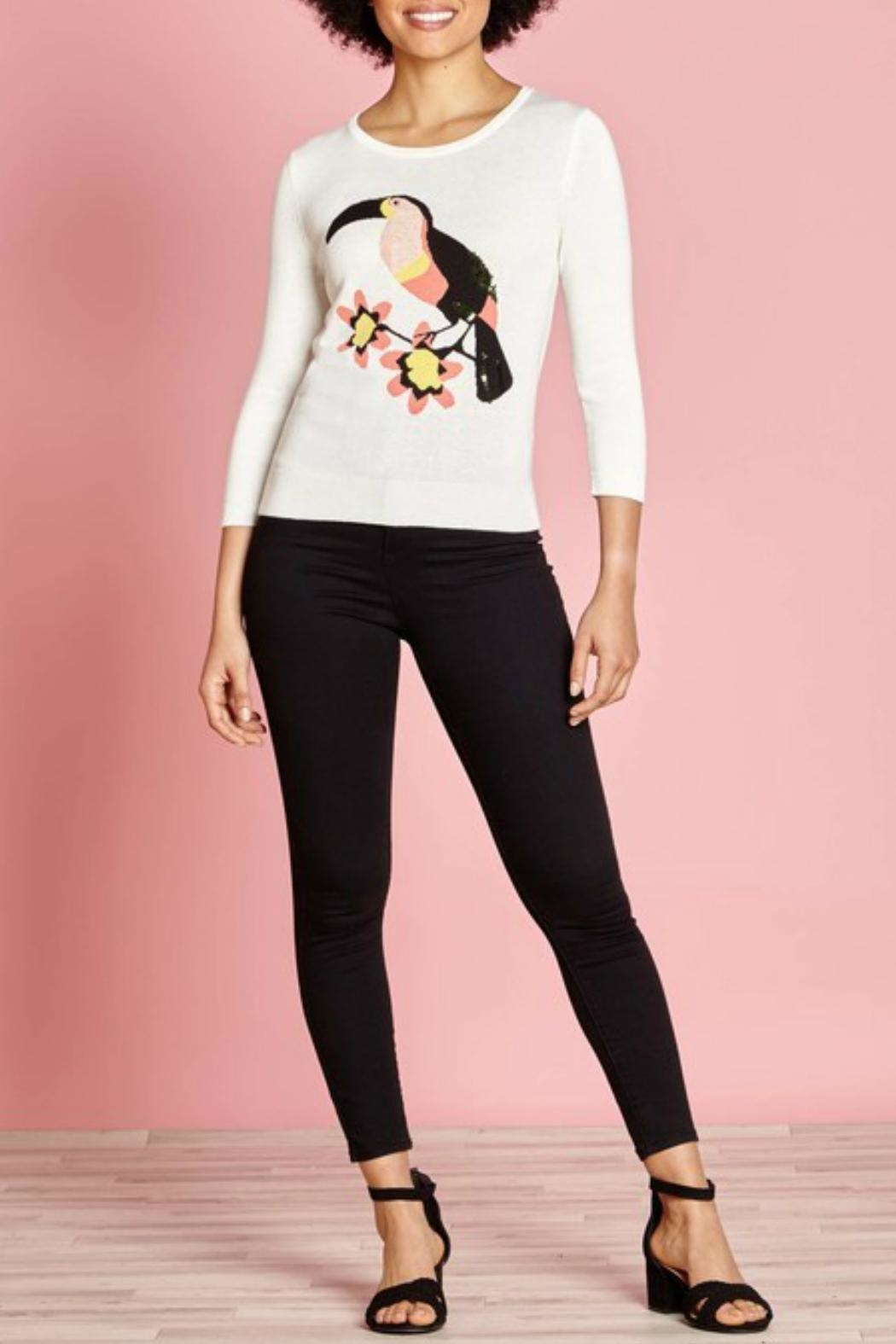 Yumi Toucan Too Sweater - Front Cropped Image