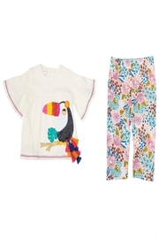Mud Pie Toucan Tunic Capri - Front full body