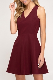 She & Sky  Touch Of Class Dress - Product Mini Image
