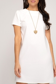 She and Sky Touch The Sky Dress - Front cropped