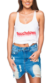 Buddy Love Touchdown Graphic Tank - Front cropped
