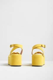 Seychelles Touching Suede Platform Sandal - Front full body