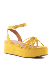 Seychelles Touching Suede Platform Sandal - Side cropped