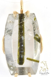 CDO  Tourmaline Quartz Pendant - Product Mini Image