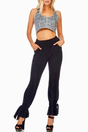 TOV Ankle Tie Trousers - Front cropped