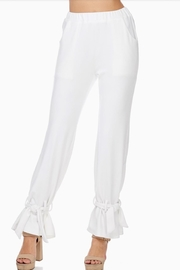 TOV Ankle Tie Trousers - Back cropped