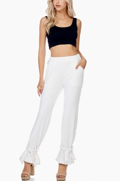 TOV Ankle Tie Trousers - Product List Image