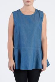 TOV Denim Sleeveless Top - Product Mini Image