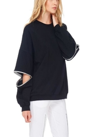 TOV Hip Zip Sweater - Side cropped