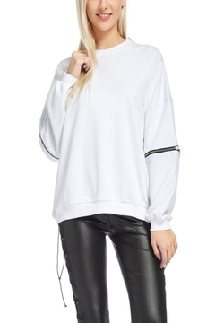 TOV Hip Zip Sweater - Product List Image