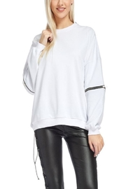 TOV Hip Zip Sweater - Product Mini Image