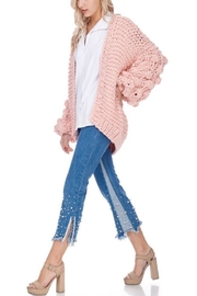 TOV Knitted Knobby Sweater - Front full body