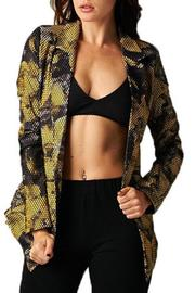 TOV Lightweight Textured Blazer - Product Mini Image