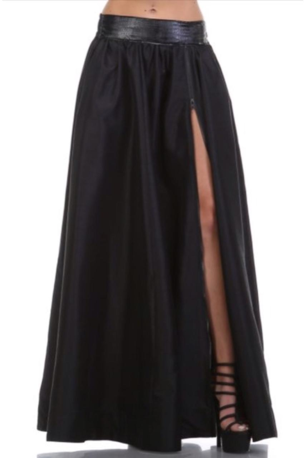 TOV Maxi Skirt - Side Cropped Image