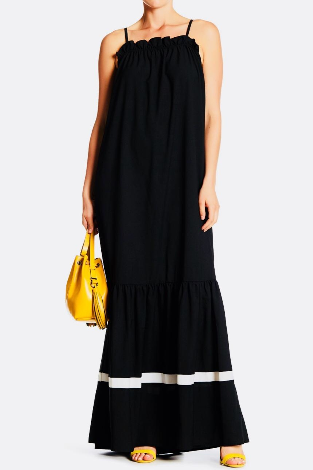 TOV Sleeveless Summer Maxi - Front Cropped Image