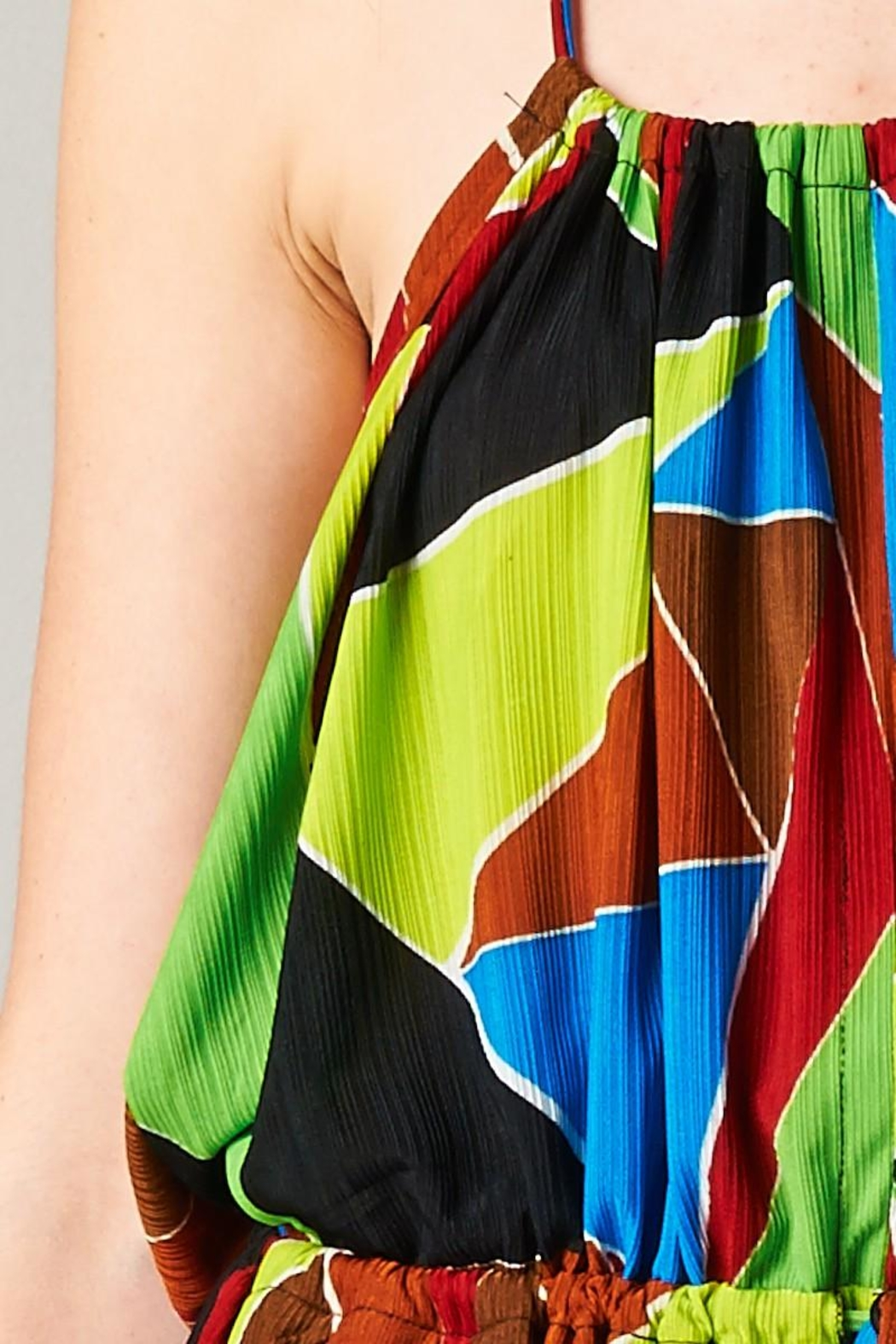 TOV The Tribal Jumpsuit - Back Cropped Image