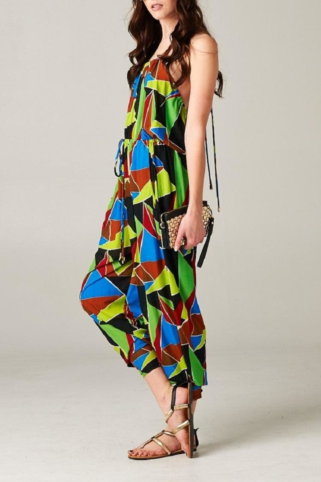 TOV The Tribal Jumpsuit - Side Cropped Image