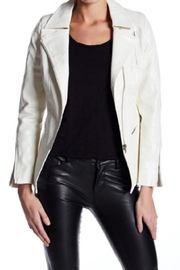 TOV White Moto Jacket - Product Mini Image