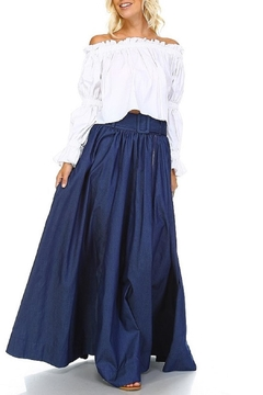 Shoptiques Product: Belted Widow Skirt