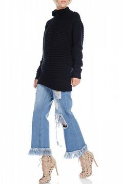 Shoptiques Product: Cowl Ribknit Sweater
