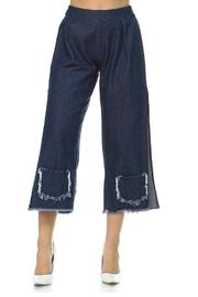 TOV Pocket Hem Capris - Product Mini Image