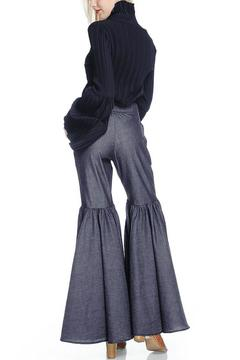 Shoptiques Product: Ruffle Knee Trousers
