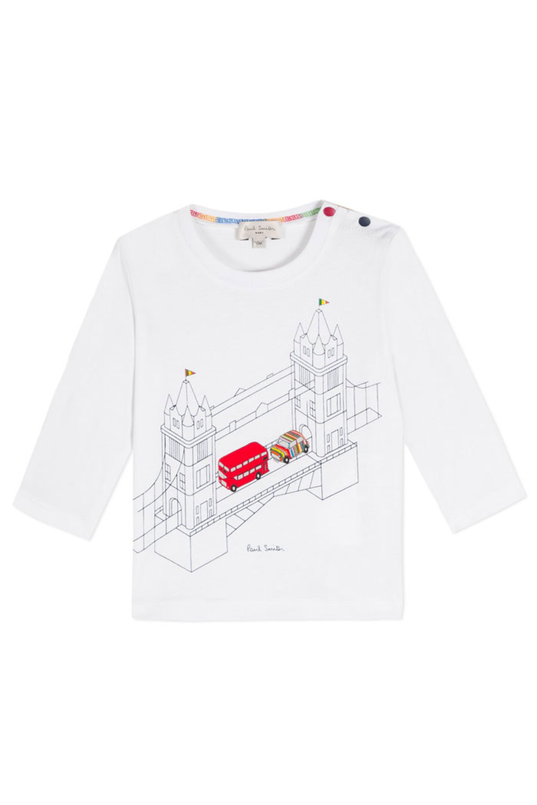 Paul Smith Junior Tower Bridge T Shirt - Front Cropped Image
