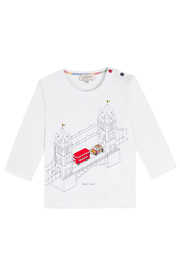 Paul Smith Junior Tower Bridge T Shirt - Product Mini Image