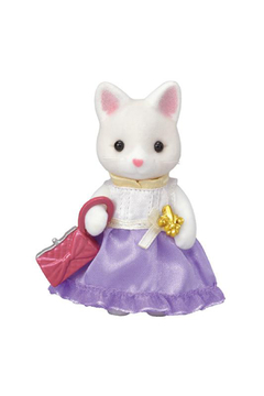 Calico Critters Town Girl Series - Silk Cat - Alternate List Image