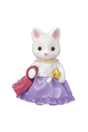 Calico Critters Town Girl Series - Silk Cat - Front cropped