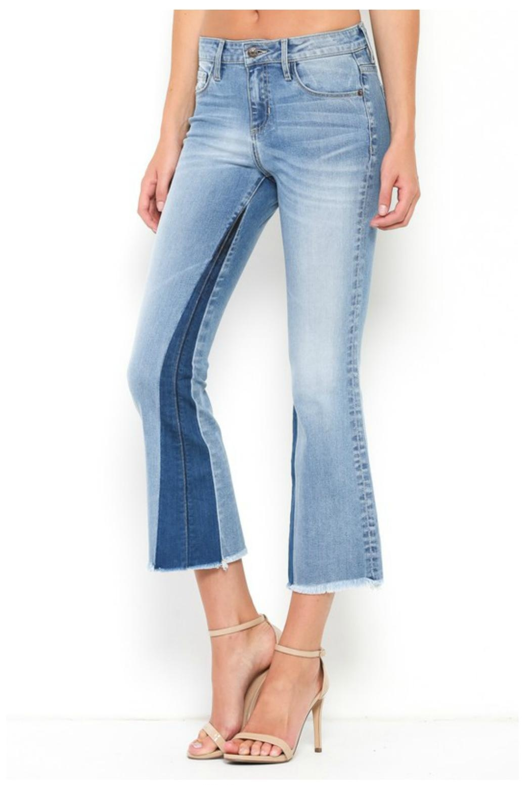 Towne 2 Tone Jean - Front Full Image