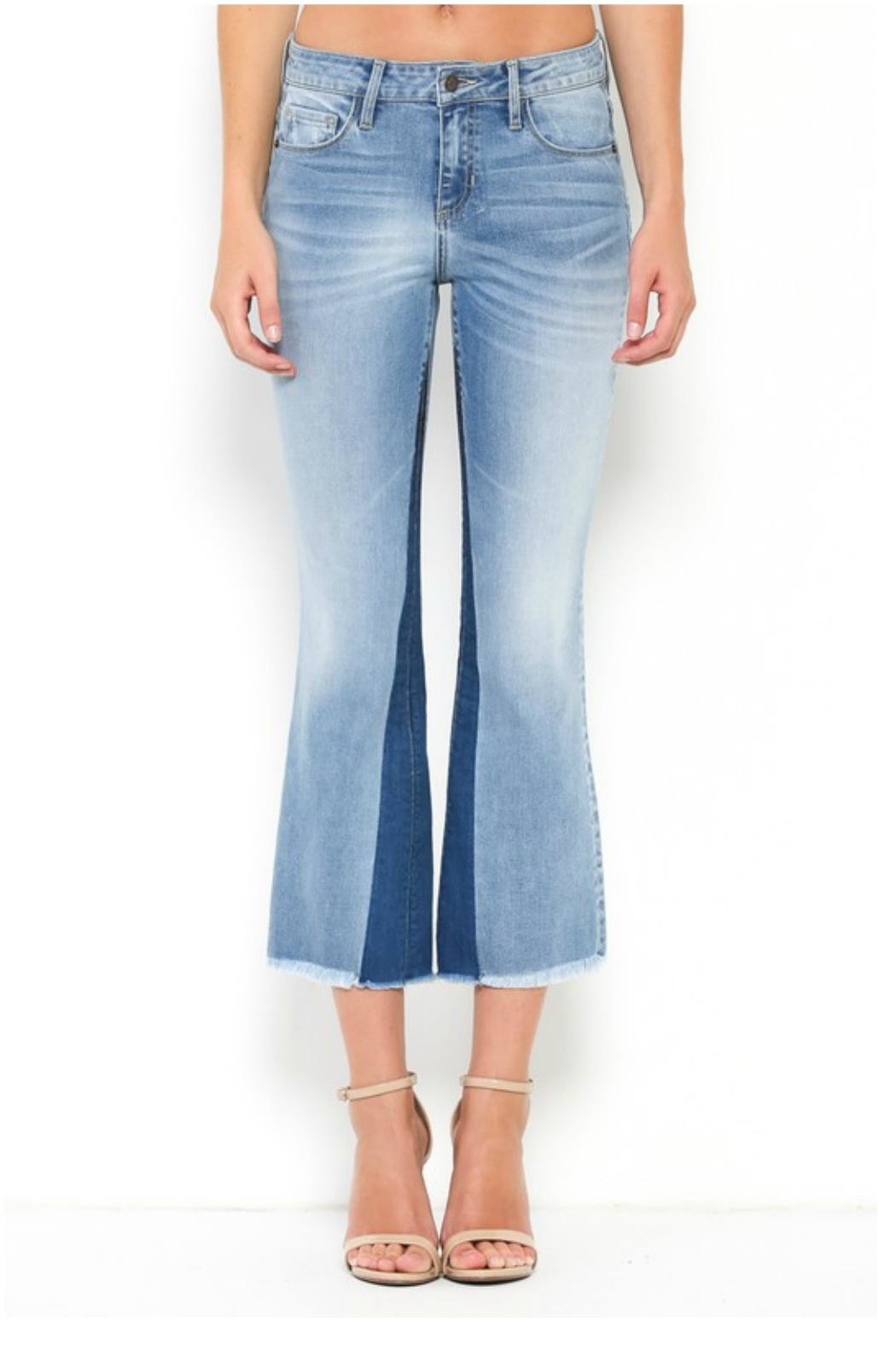 Towne 2 Tone Jean - Front Cropped Image