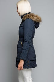 Towne Belted Jacket - Front full body