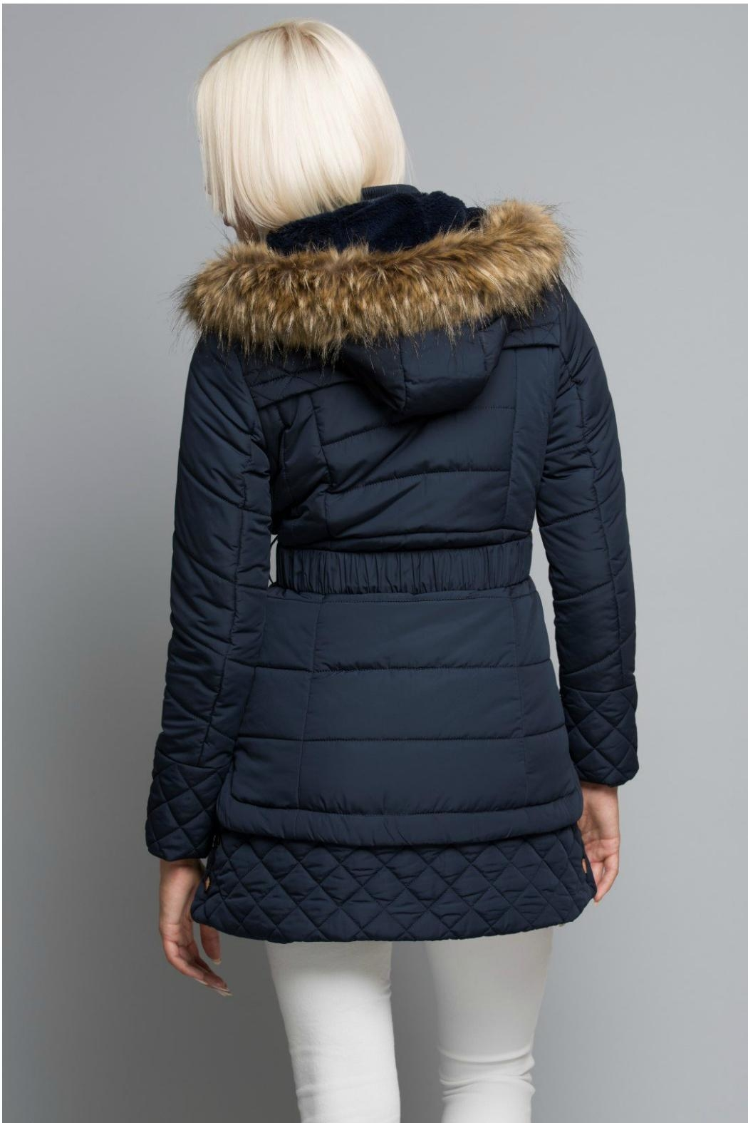 Towne Belted Jacket - Side Cropped Image