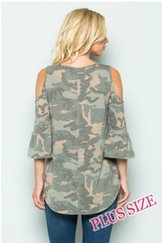 Towne Camo Cold Shoulder - Side cropped