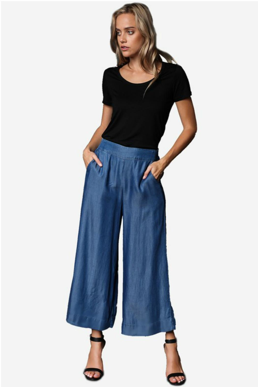 Towne Chambray Pant - Front Cropped Image