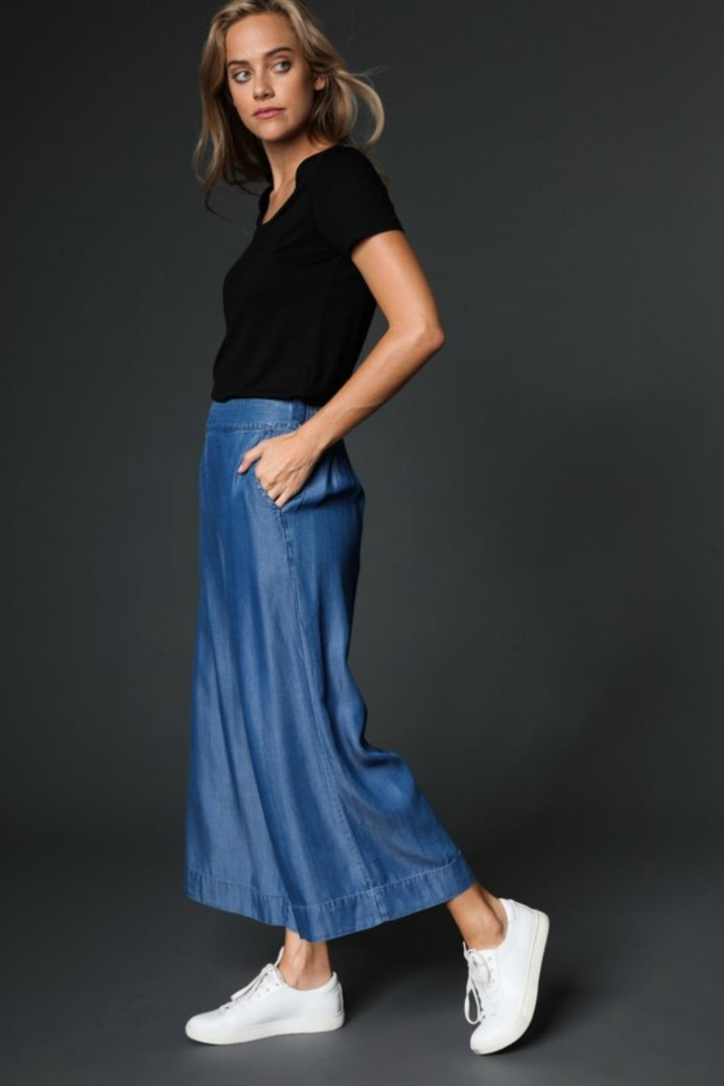 Towne Chambray Pant - Front Full Image