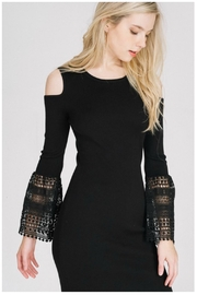 Towne Crochet Sleeve Dress - Product Mini Image