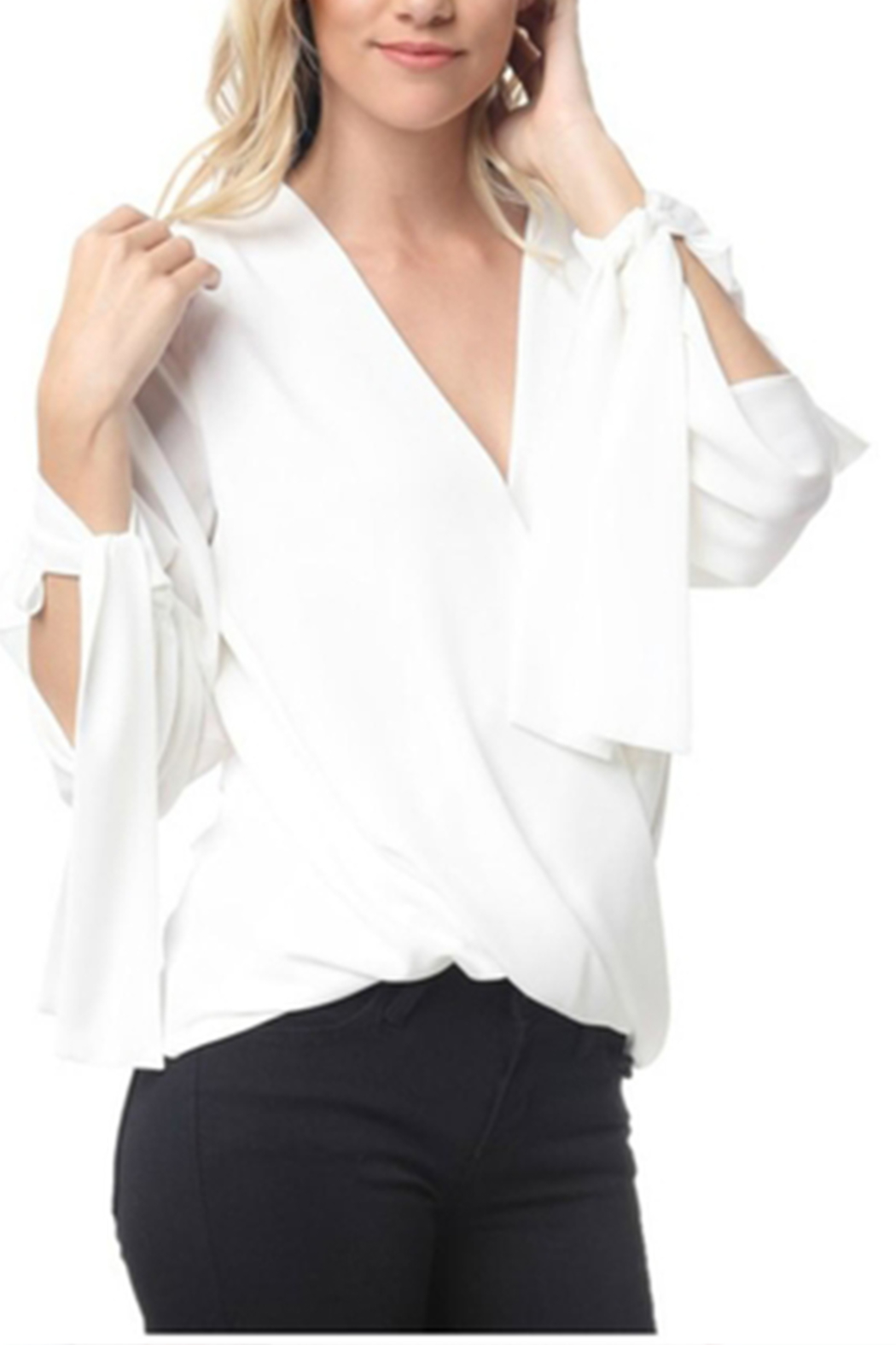 Towne Crossover Blouse - Main Image