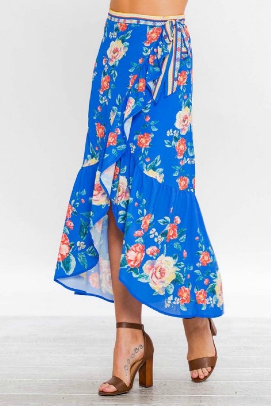 Towne Floral Two Piece Set - Front Full Image